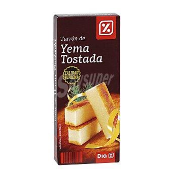 DIA Turrón de yema tostada estuche 200 gr Estuche 200 gr