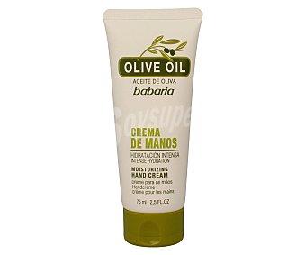 Babaria Crema de manos con aceite de oliva Bote 75 ml