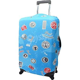 ORALLI Funda para maleta grande en azul