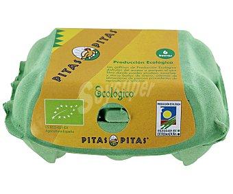EL ALDEANO Huevos L/M Ecológico 6 Unidades