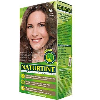 Naturtint Tinte rubio oscuro 6n color permanente sin amoniaco caja 1 unidad Caja 1 unidad