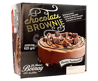 Bornay Tarta de chocolate con brownie 1 litro