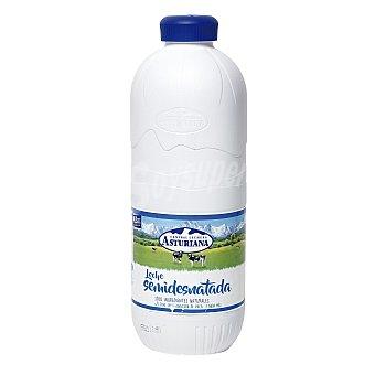 ASTURIANA leche semidesnatada botella 2,2 l