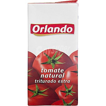 Orlando Tomate natural triturado extra Brick 800 g