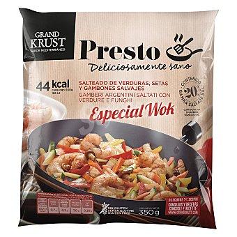 Grand Krust Salteado de verduras especial wok Grand Krust 350 g