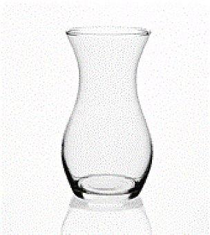 Cristal Jarron tulipa transparente 25X14