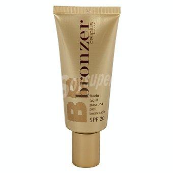 Deliplus Maquillaje fluido bronzer sfp 20 Nº 02 tono claro bronceado Tubo 40 ml