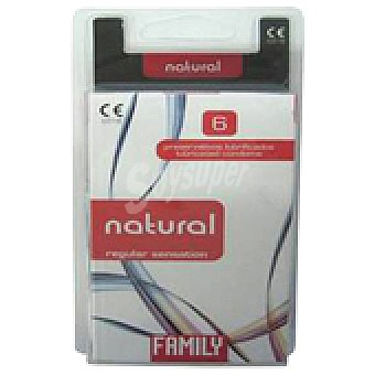 Family PRESERVAT. NATURAL 6 UNI