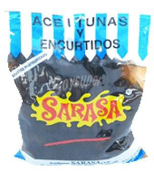 Aceitunas Sarasa Aceituna negra perla bolsa 400 g