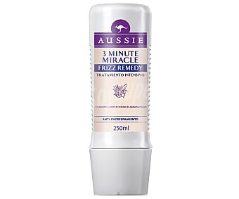 Aussie Mascarilla 3 minute miracle frizz remedy con aloe vera y aceite de semillas de jojoba Frasco 250 ml