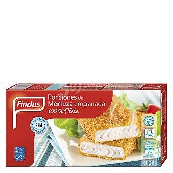 Findus Porciones de Merluza Empanada - 400 gr