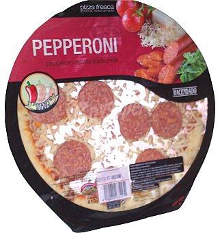 Hacendado Pizza fresca pepperoni u 410 g