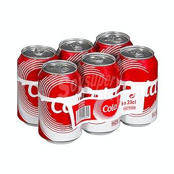 Hacendado Cola normal Pack 6 x 330 ml - 1980 ml