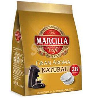 Marcilla Café natural en cápsulas 28 ud