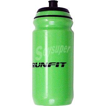 RUNFIT Bidón de agua en color verde para ciclistas 1 Unidad