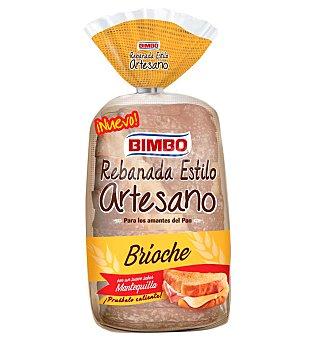 Bimbo artesano Pan brioche 550 g