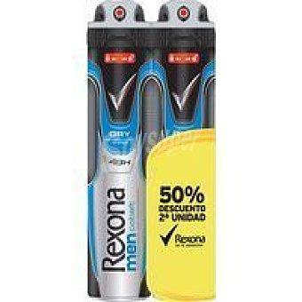 Rexona Desodorante para hombre Duo Cobalt Pack 2x200 ml