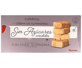 Auchan Turrón blando sin azúcares añadidos 200 gramos