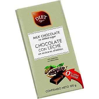 Diet Rádisson Chocolate con leche desnatada con fructosa Tableta 100 g