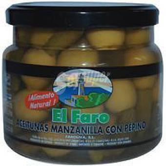Faro Acenitunas sabor manzanilla-pepinillo Frasco 500 g