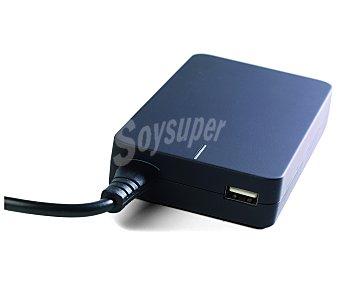 QILIVE Q.8642, 90W, 12 Cargador universal para portátiles clavijas para diferentes marcas de ordenadores, dispone de conector Usb para cargar otros dispositivos, diseño Slim,