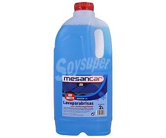 Mesancar de líquido lavaparabrisas con anticongelante, mensacar 2 litros