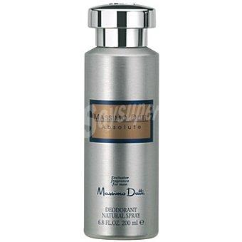 Massimo Dutti Desodorante Absolute Natural For Men Spray 200 ml
