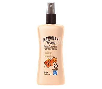 Hawaiian Tropic Loción solar protectora FP-20 Spray 200 ml
