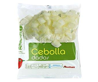 Auchan Dados de cebolla 400 gramos