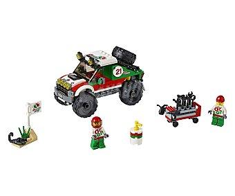LEGO Juego de bloques de construcción con 176 piezas todoterreno 4x4, City 1 unidad