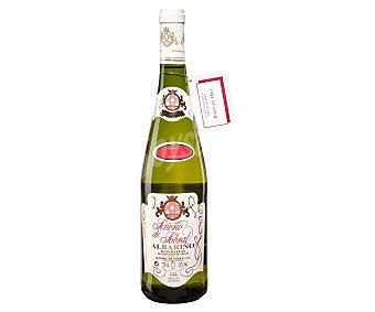 Señorio de Sobral Vino blanco albariño con denominación de origen Rías Baixas Botella de 75 cl