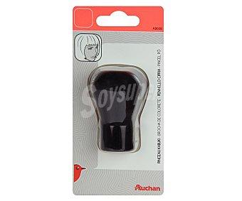 Auchan Brocha para polvos que permite para aplicar todo tipo de polvos 1 unidad