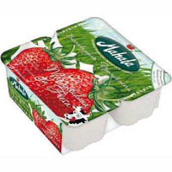 Mahala Yogur de fresa Pack 4x125 g