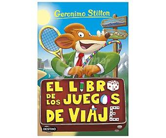 Destino Gerónimo Stilton 34: El libro de los juegos de viaje, vv.aa. Género: infantil, aventuras. Editorial Destino