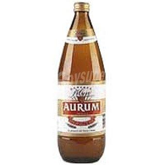 Cervezas Aurum Cerveza Botella 1l