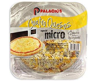 Palacios Mini Pizza Cuatro Quesos 225 gramos