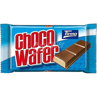 Tirma Choco Wafer Chocolate con leche con galleta Tableta 135 g