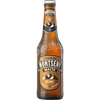 MONTSENY Cerveza artesana Malta Pale Ale botella 33 cl 33 cl