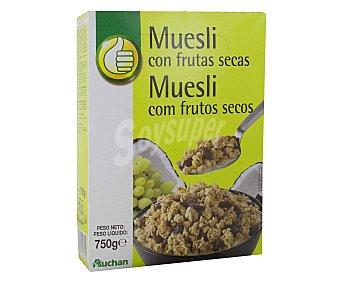 Productos Económicos Alcampo Muesli crujiente con frutas secas 750 gramos