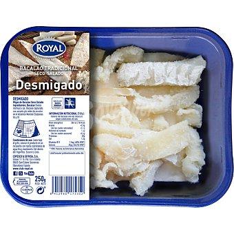 Pescados Royal Bacalao salado desmigado bandeja 250 g bandeja 250 g