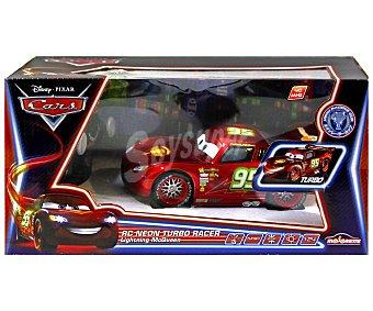 DISNEY Coche Radiocontrol Rayo McQueen de la Película Cars 1 Unidad