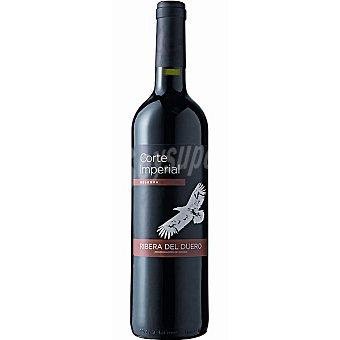 CORTE IMPERIAL Vino tinto reserva D.O. Ribera del Duero elaborado para grupo El Corte Inglés  Botella de 75 cl