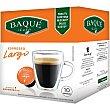 Café espresso largo intensidad ápsulas compatibles con cafeteras Dolce Gusto 7 estuche 10 c Café Baqué