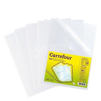 Carrefour Paquete Dossier Uñero 10 ud