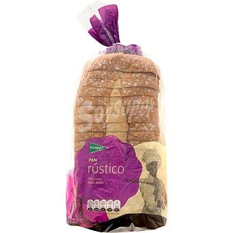 El Corte Inglés pan rústico con corteza bolsa 550 g Bolsa 550 g