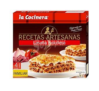 La Cocinera Lasaña Boloñesa Caja de 1060 g