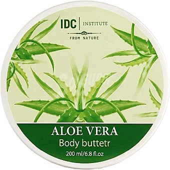 IDC INSTITUTE crema corporal Aloe Vera  tarro 200 ml