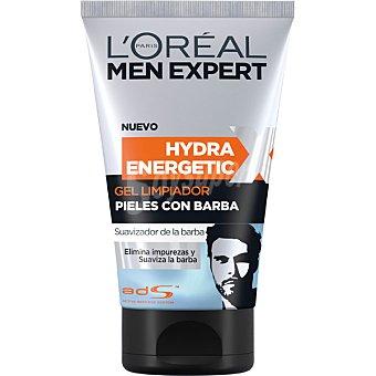 L'Oréal Men Expert Gel limpiador Hydra Energetic para pieles con barba Tubo 150 ml