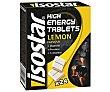 Tabletas energéticas de glucosa sabor limón Estuche 16 unidades Isostar