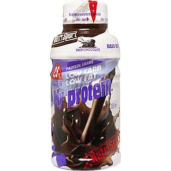 NUTRISPORT My Protein suplemento liquido sabor chocolate Botella 330 ml